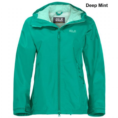 Jack Wolfskin Womens Arroyo Waterproof Jacket - Lightweight